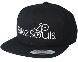 Bike Souls Black/White Snapback - Bike Souls
