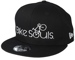Bike Souls x New Era Black/White Snapback - Bike Souls