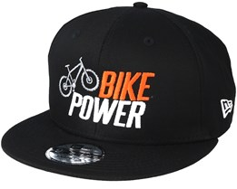 Bike Power x New Era Black Snapback - Bike Souls