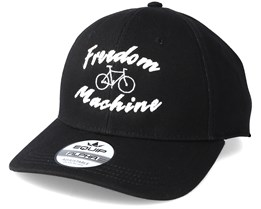 Freedom Machine Black/White Adjustable - Bike Souls