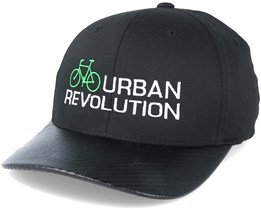 Urban Revolution Green/White Carbon Flexfit - Bike Souls