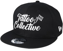 Logo New Era Black Snapback - Tattoo Collective