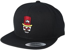 Skull Hat Black Snapback - Tattoo Collective