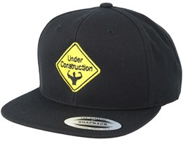 Under Construction Black Snapback - Berzerk