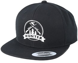 Rifles Badge Black Snapback - Hunter