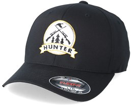 Rifles Badge Black Flexfit - Hunter