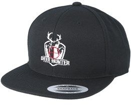 Deer Hunter Black Snapback - Hunter