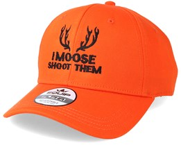 I Moose Shot Them Orange Adjustable - Hunter