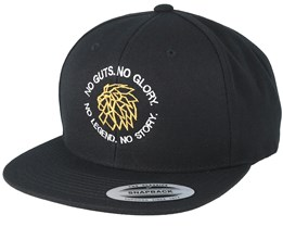 Legend Circle Black Snapback - Lions