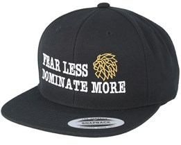 Dominate More Black Snapback - Lions