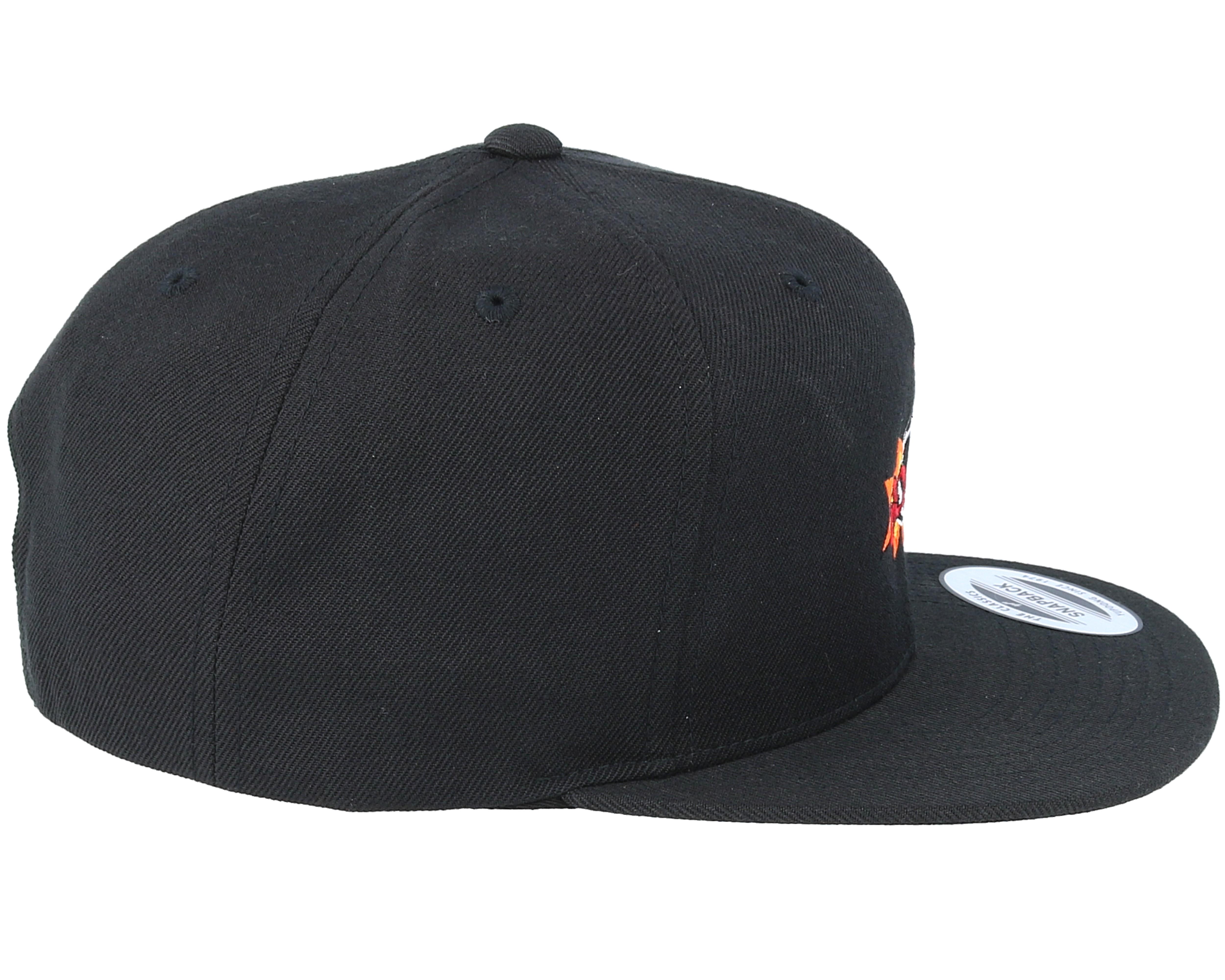 boom logo black snapback boom cap hatstorenl