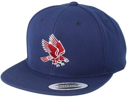 Eagle Navy/Burgundy Snapback - Eagle