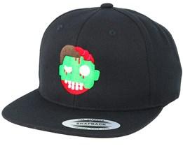 Emoji Zombie Black Snapback - Iconic