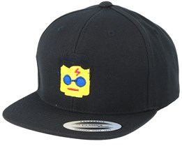 Kids Emoji Glasses Black Snapback - Iconic