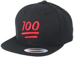 Kids Emoji 100 Black Snapback - Iconic
