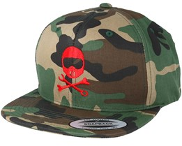 Helmbones Camo Snapback - Born To Ride