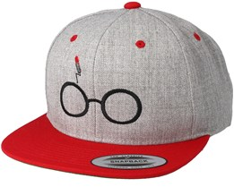 Harry Grey/Red Snapback - Period