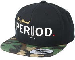 Official Black/Camo Snapback - Period
