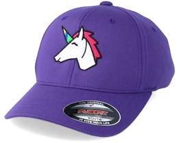 Kids Unicorn Purple Flexfit - Unicorns