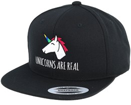 Unicorns Are Real Black Snapback - Unicorns