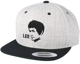 Leegend Grey/Black Snapback - Scenes