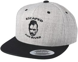 Escaped Grey/Black Snapback - Scenes