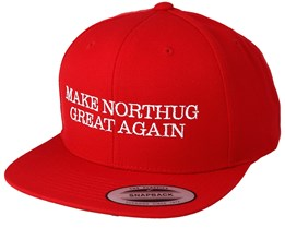 "Make Northug Great Again ""Kläbo"" Red Snapback - Iconic"