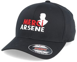 Merci Arsene Black Flexfit - Forza