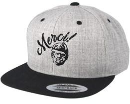 Merci Grey/Black Snapback - Forza