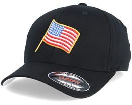 Stars And Stripes Black Flexfit - Iconic