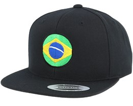 Brasil Circle Black Snapback - Forza