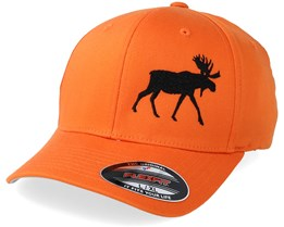 Side Moose Orange Flexfit - Hunter
